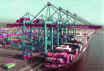 Container Ship Gantry