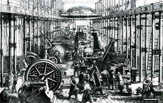 Industrial Revolution England