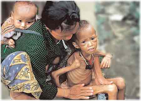 Poor People in the World