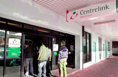 Unemployed Centrelink Social Security